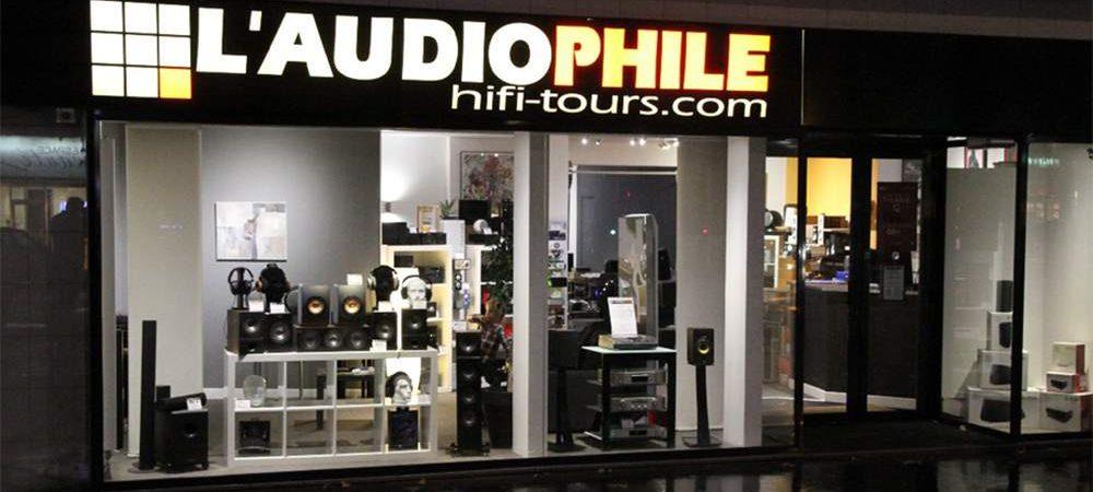 Vitrine audiophile